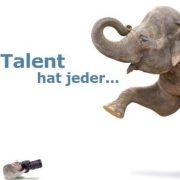 Talent hat jeder